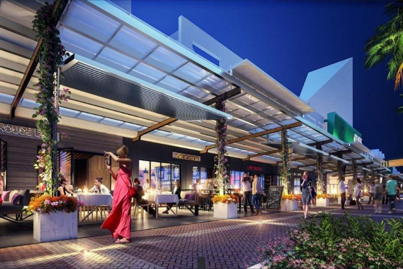 Oasis Shopping Centre Abacus Property Group